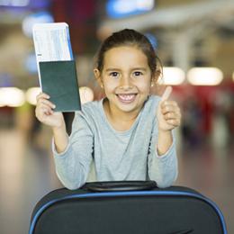 Documentação para viagem de crianças