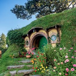 Cidade dos Hobbits em Waikato, Nova Zelândia