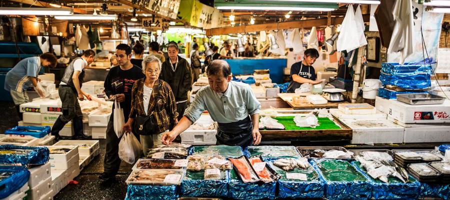 Mercado de peixes de Tsukiji