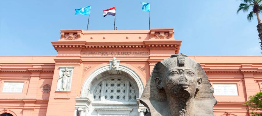 Museu Egípcio localizado no Cairo