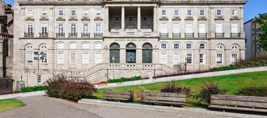 Fachada do Palácio da Bolsa - Porto